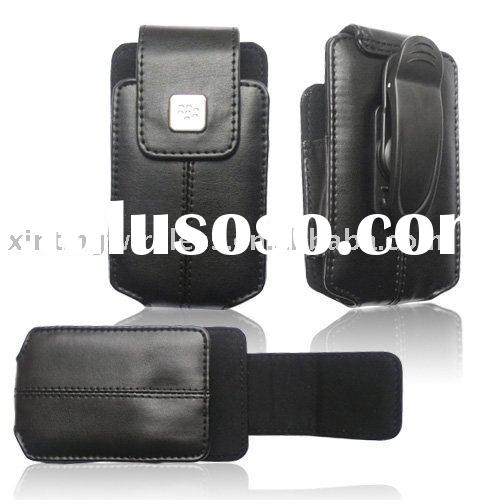 cell phone leather pouch for blackberry 8300