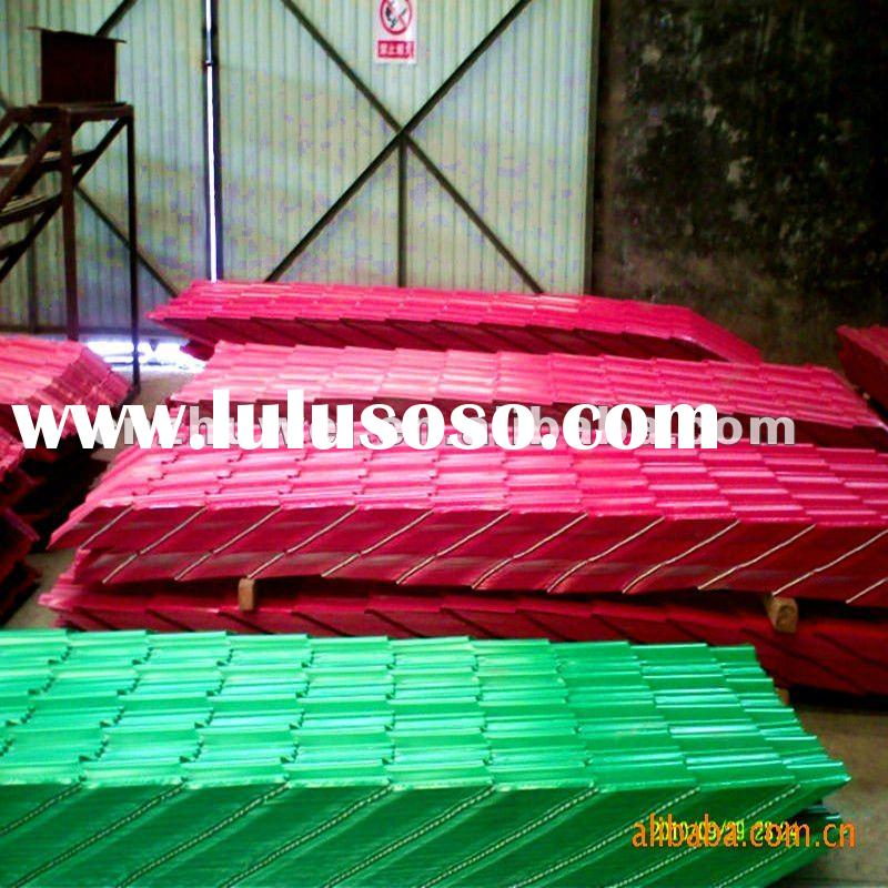 color corrugated metal roofing sheet
