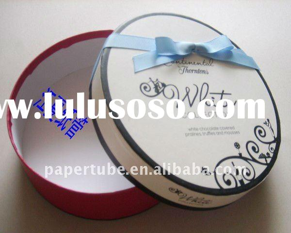 cosmetic box cream container with ribbon