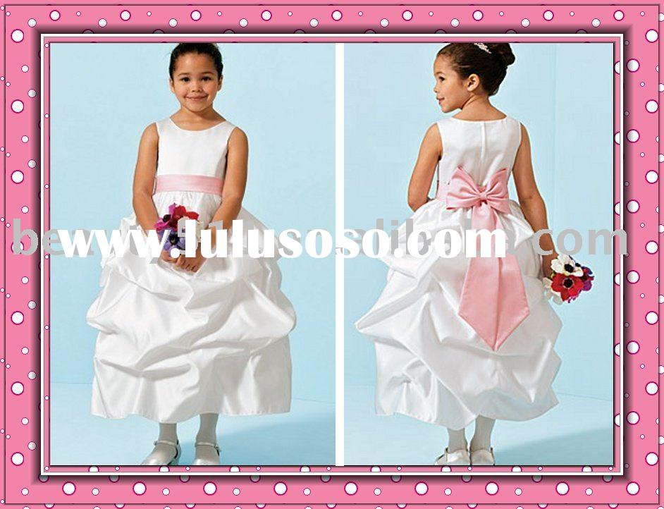 cute flower dress with bow