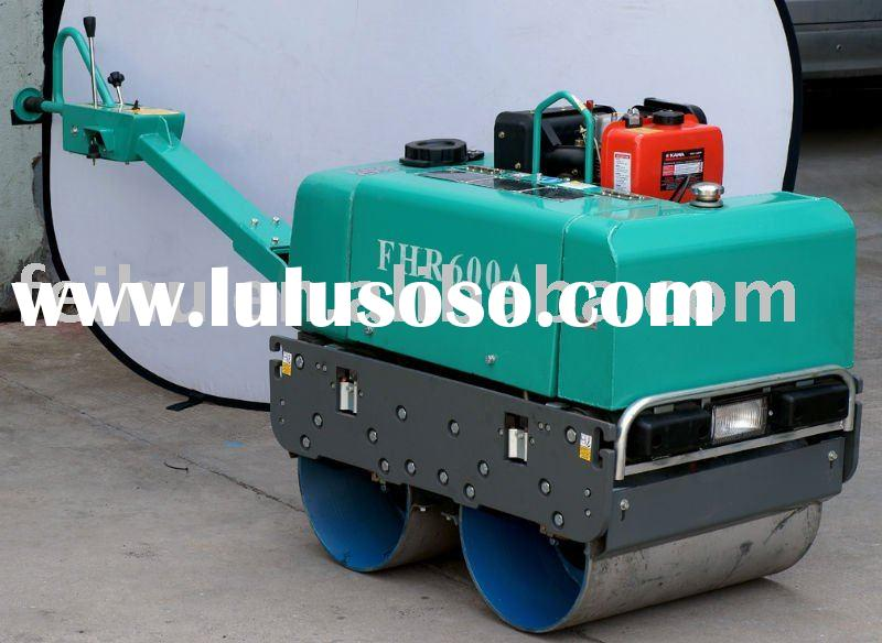 diesel engine ,hydraulic double drum roller compactor