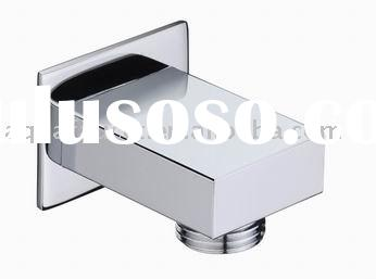 high quality brass round hand shower wall bracket,shower wall elbow, shower outlet, wall shower outl