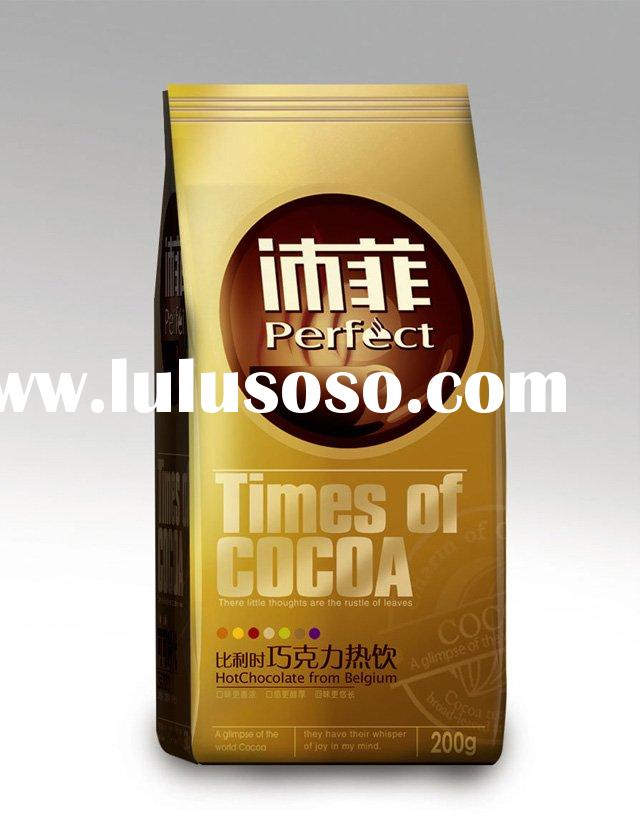high quality instant cocoa drinking