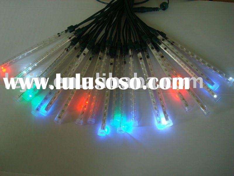led meteor shower light/led tube light/ holiday light /rainfall light