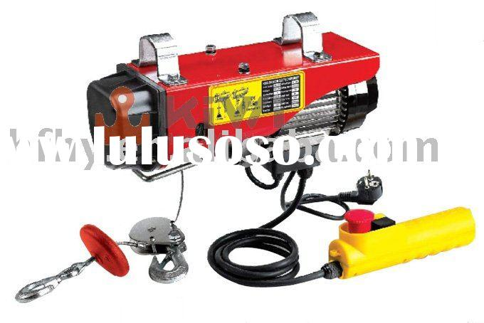 mini type electric wire rope hoist/winch