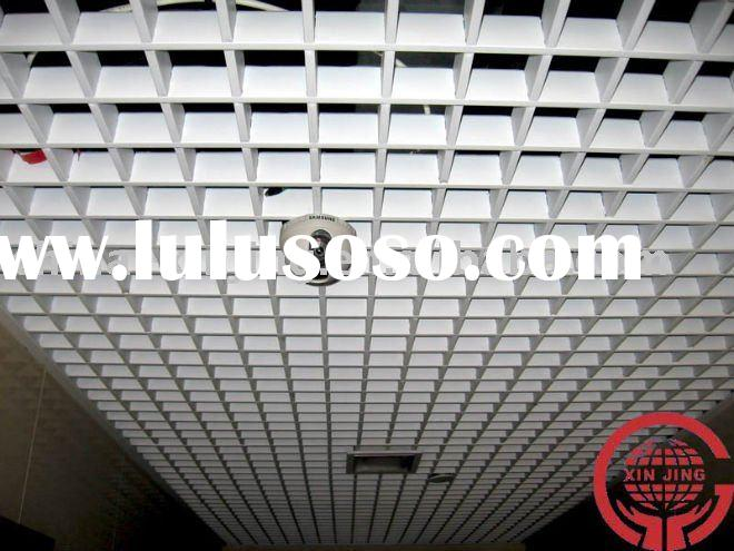 perforated metal sheet/Aluminium grid ceiling