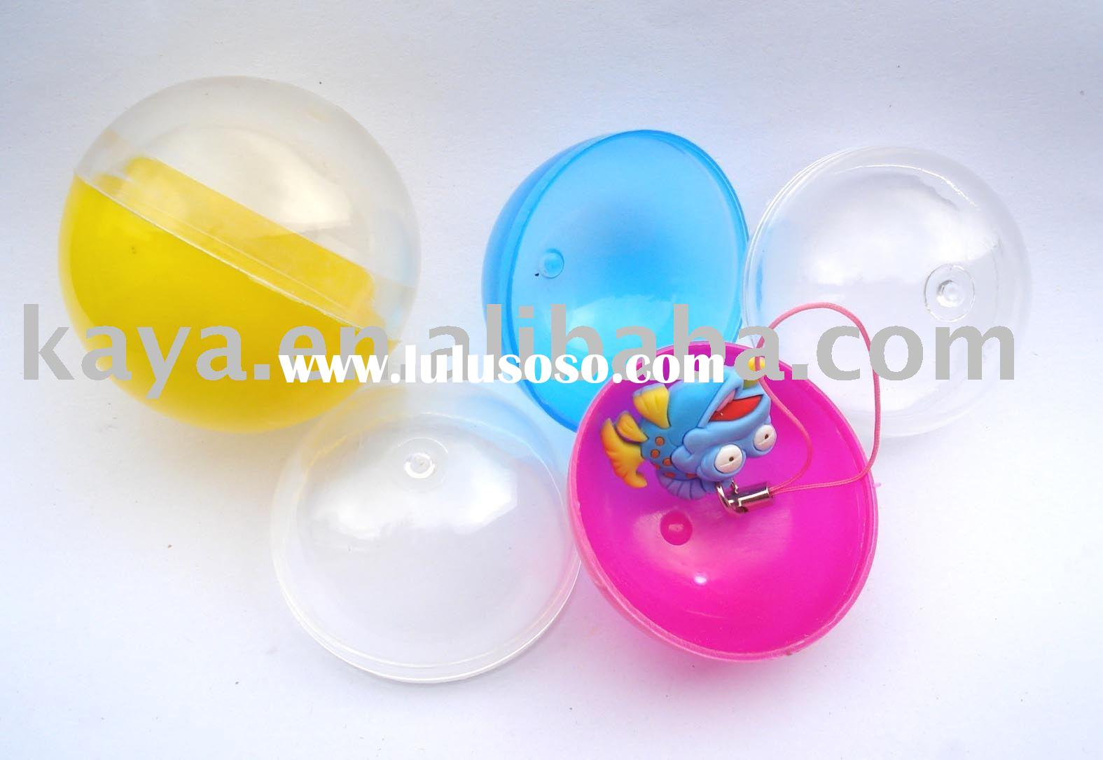 plastic capsule toys/colorful egg