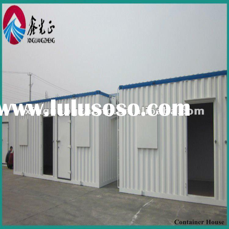 prefab steel shipping container house