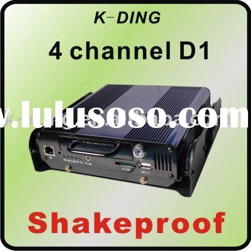 sd card DVR, Bus DVR, full D1 resolution, 30fps, GPS with google map, 500GB HDD supported