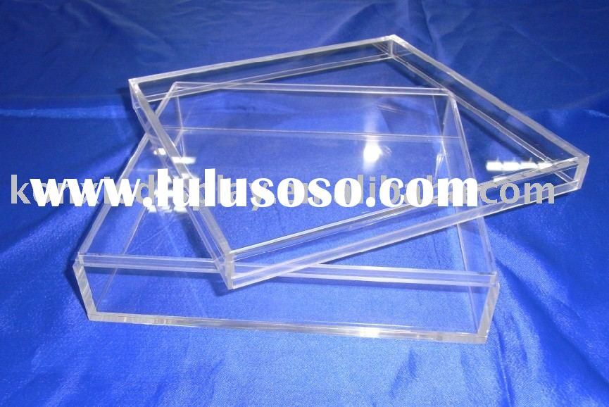 simple design acrylic magnet boxes