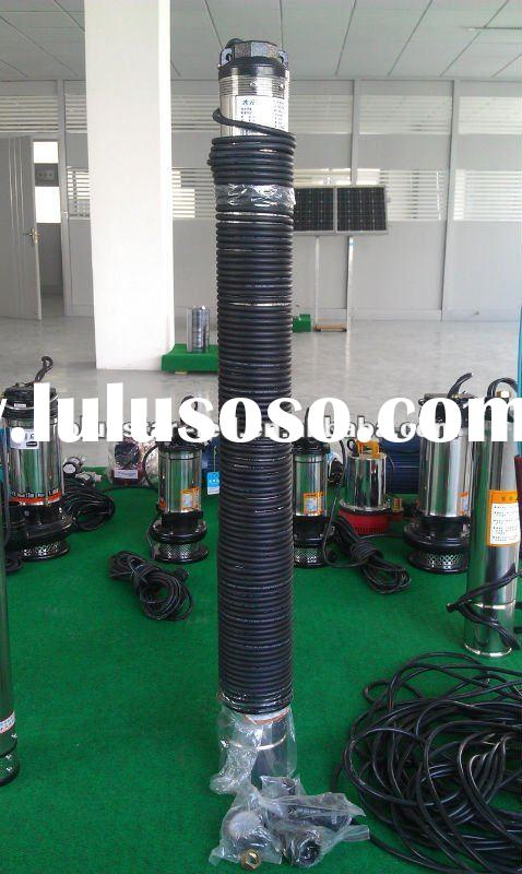 solar power irrigation system submersible water pump
