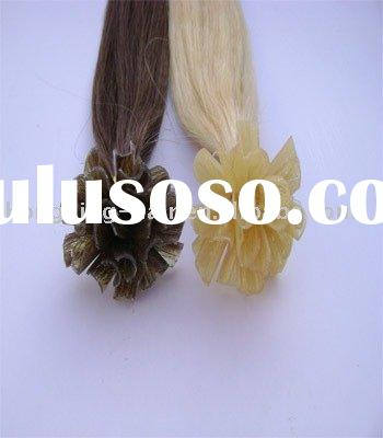 wholesale human hair keratin extensions u-tip