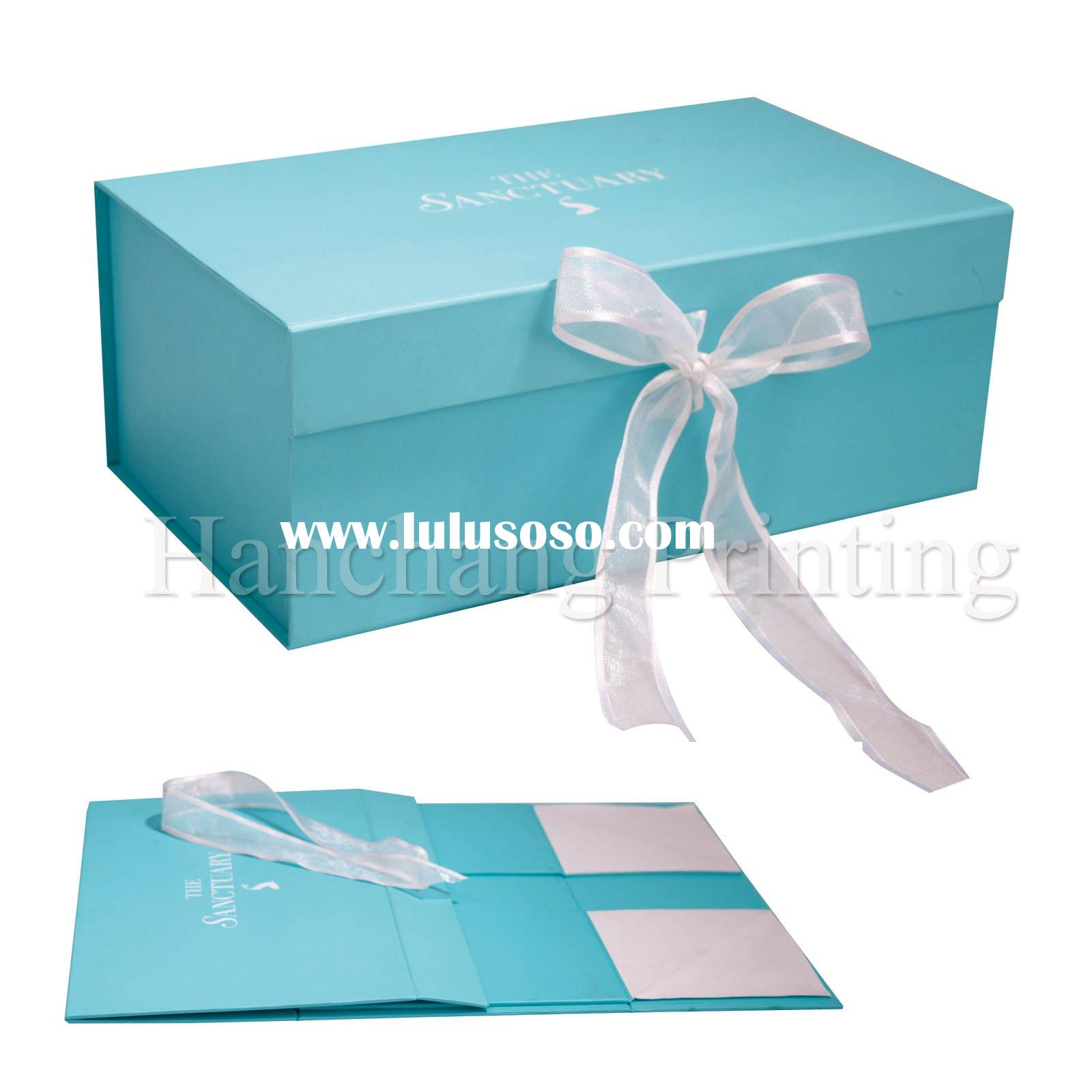 2012 High Quality decorative cardboard boxes