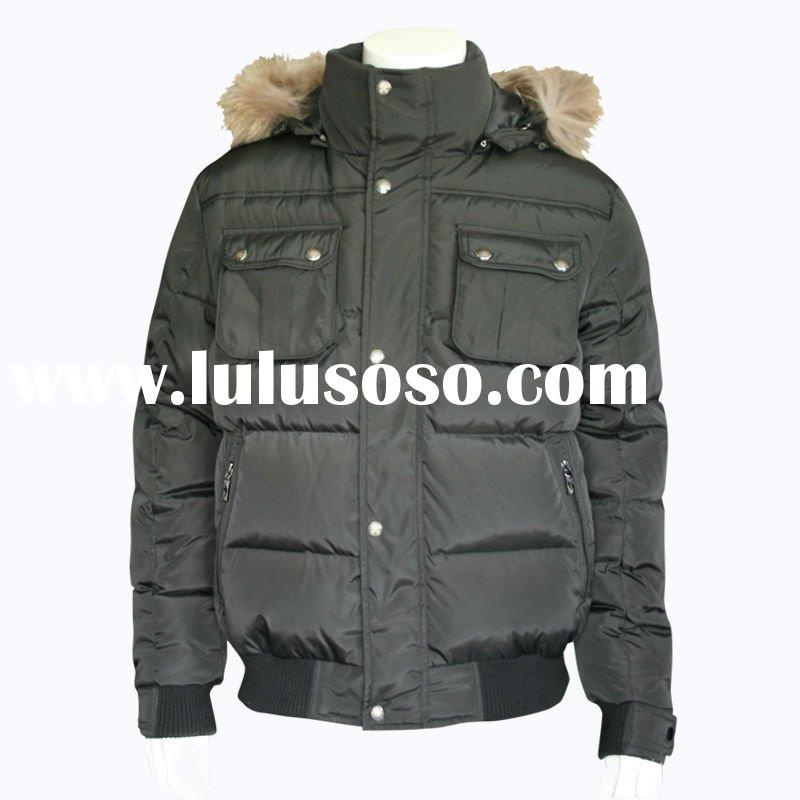 2012 New Style Down Jacket for Men,Suit Jacket (FT12001)