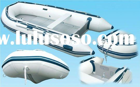 4m Cheap rubber boat & zodiac inflatable boat made use PVC for sale