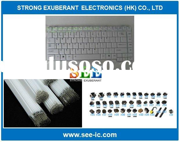 Computer parts: Laptop Keyboard/ LCD Lamps/ DC Power Jack Wholesale price