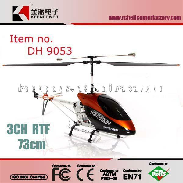 Double Horse Big Size 3 Channel RC Helicopter DH 9053