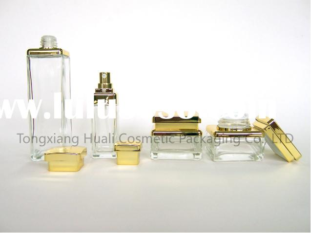 HS-67 glass cosmetic bottles