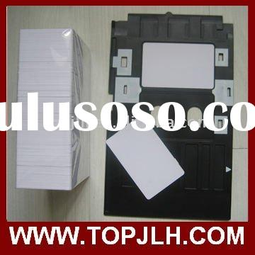 Inkjet Direct Printable PVC Card Tray for Epson R300/R350
