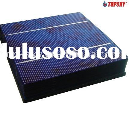 Lowest price good quality Motech 156*156mm polycrystalline solar cell 6x6