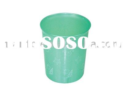 SMALL-SIZE PRINTED ASH-CART ,garbage can,dustbin,waste bin