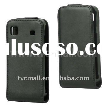 Vertical Magnetic Flip Leather Case Holder for Samsung I9003 Galaxy SL