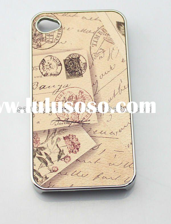 With Stamp pattern phone case for iphone 4 4s phone accessory