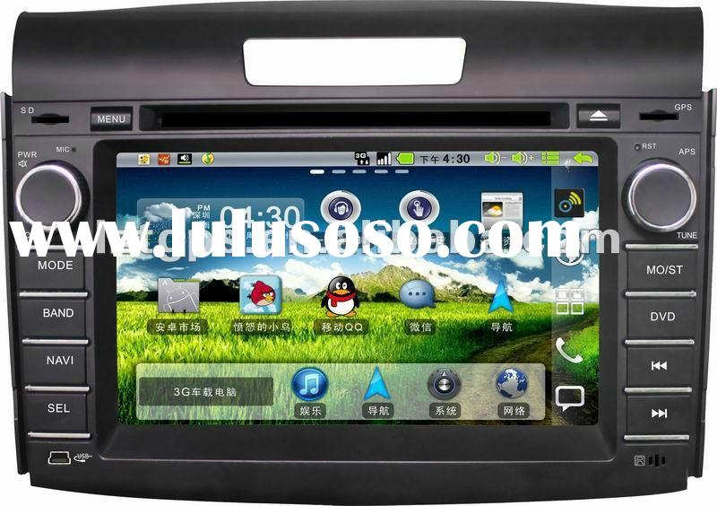 (new) 7 inch car dvd player for 2012 CRV with GPS,bluetooth,Ipod
