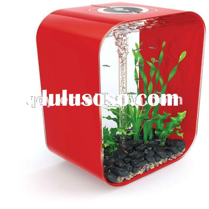 beatiful mini desktop acrylic fish bowl acrlic aquarium