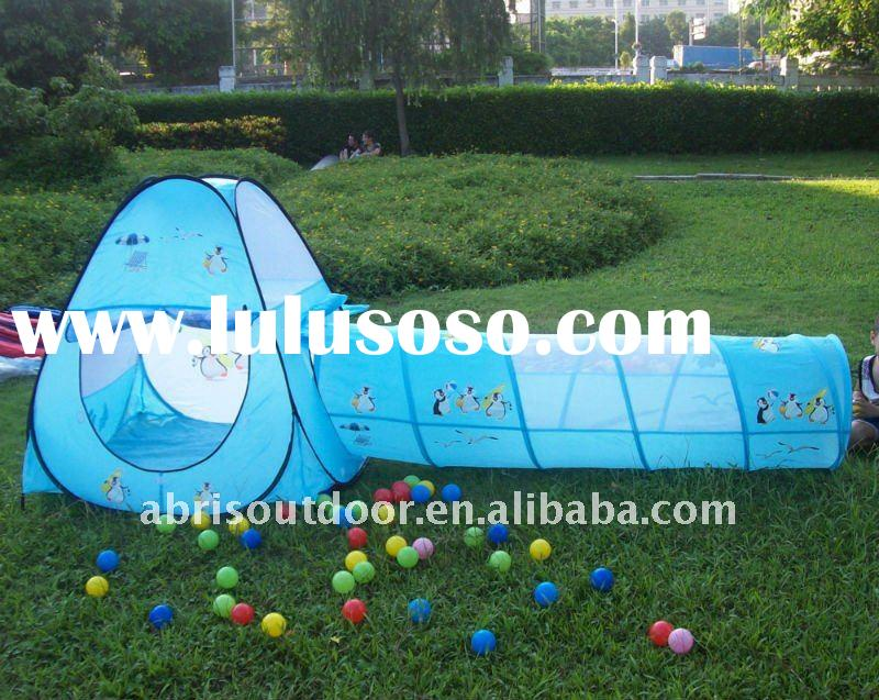 pop up kids playing tent with penguin pictures for indoor and outdoor