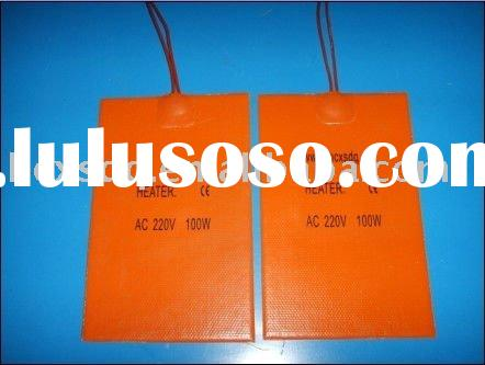 100mm*50mm 220V 50W Flexible Heater--Silicone Rubber Heater