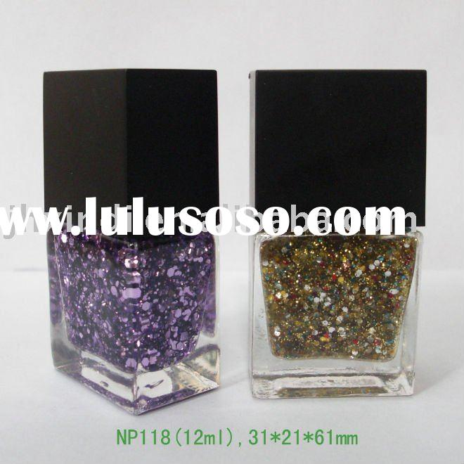 12 ml square shape nail polish