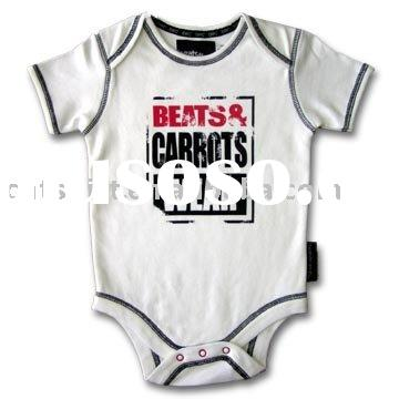 2012 summer 100 cotton knitted baby romper clothes