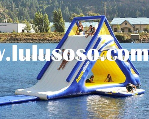 2012 summer inflatable water games/ inflatable on water slide