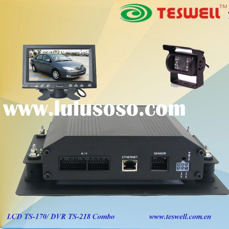 3G 4 channel mini car DVR system, hot and best-seller