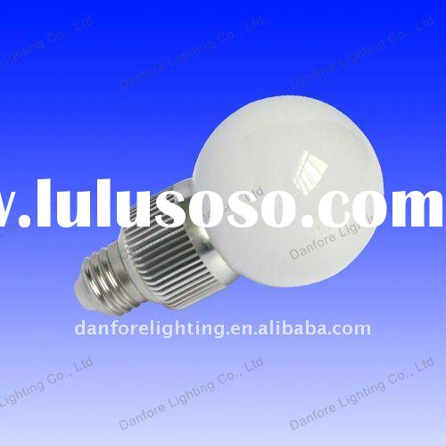 4W LED Bulb, high power LED globe bulb lights