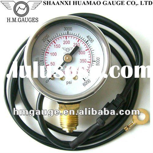 50mm bourdon tube LPG pressure meter