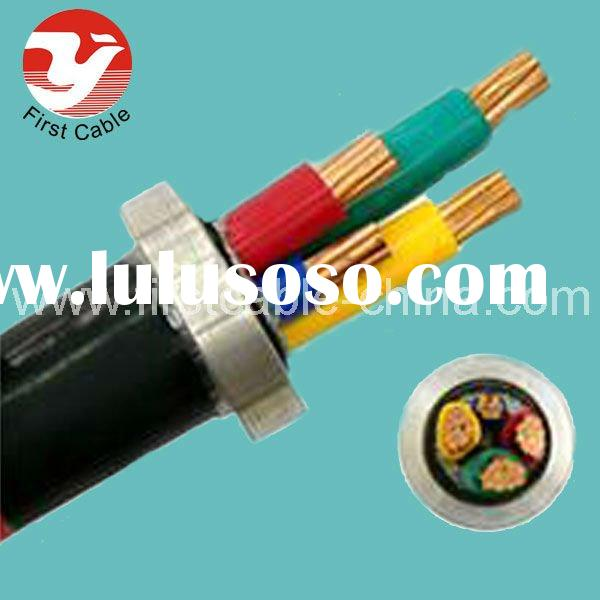 600/ 1000 V 3+ 1 Core Copper Conductor PVC Insulated Power Cable