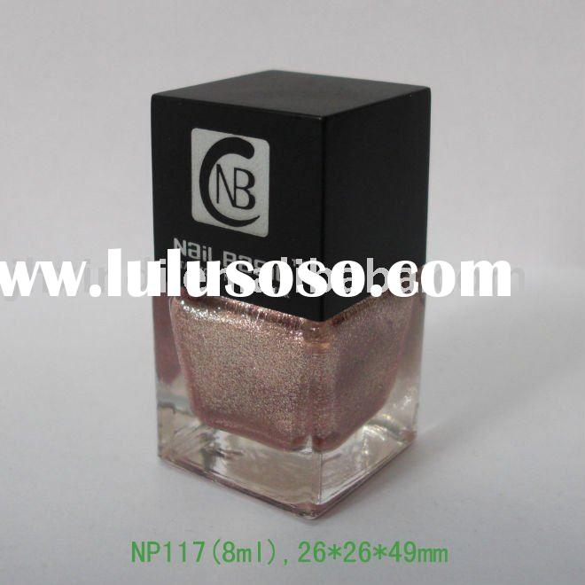 8 ml square shape nail polish