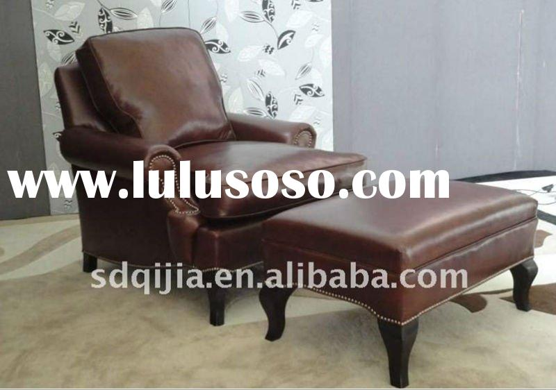 American style genuine leather office chair