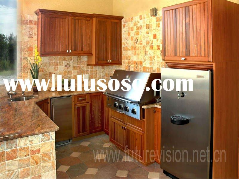 American wood RTA kitchen furniture cabinet