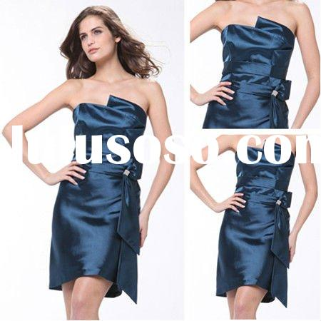 BM1030 Mini Style Royal Blue Bridesmaid Dresses