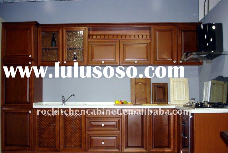 Best selling Solid Wood kitchen cabinet
