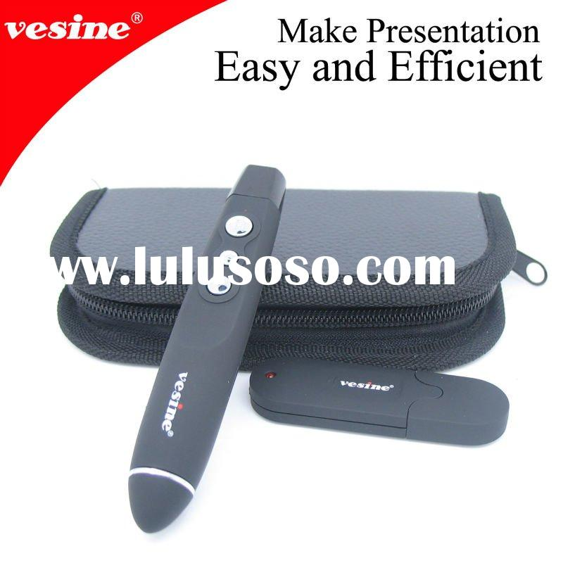 Bestseller! Remote Control Powerpoint Wireless Presenter VP100 with laser light red page up/down