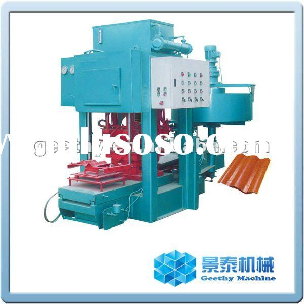 Cement color tile making machinery tile machine(SMY8-150)