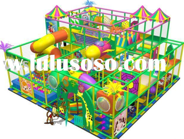 Children soft play indoor playground equipment