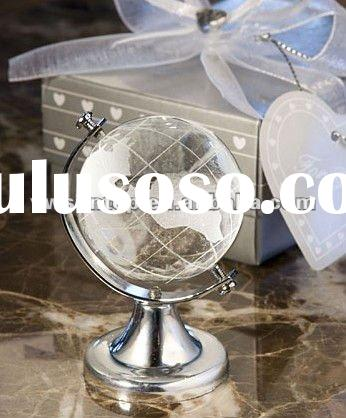Choice Crystal Globe Favor Wedding favors Baby shower gifts