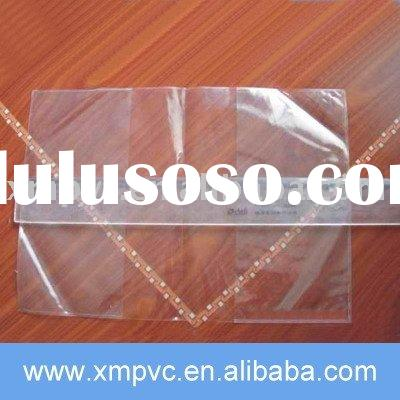 Clear pvc book cover for your design