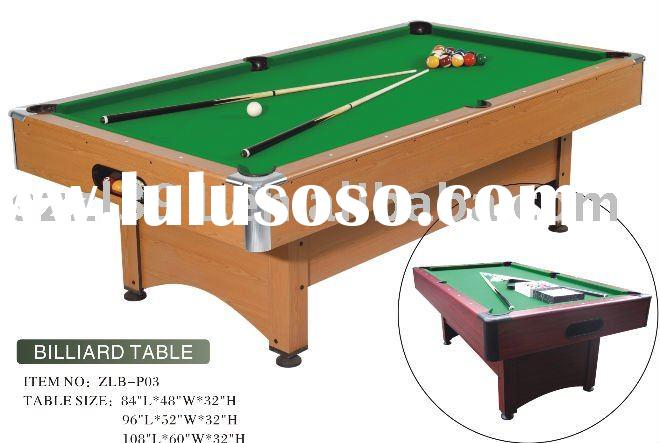 Competitive price wholesale pool table