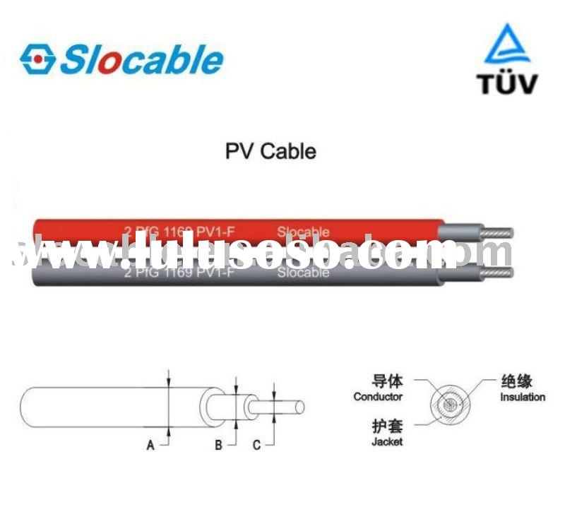 Cost-effective,100%copper conductor,single core PV 10mm2 solar cable